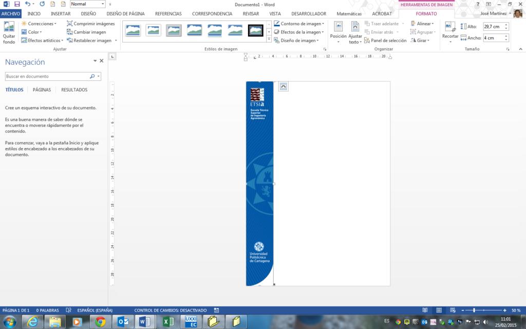 Portada Word Crear Una Personalizada Con La Imagen Corporativa